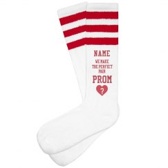 Promposal Custom Prom Socks