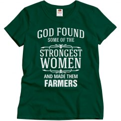 Strong women farmers