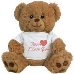 Custom Teddy Bear Hug