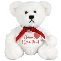 Custom Teddy Bear Hug