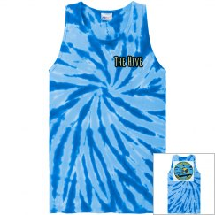 TIE DYE MENS TANK - THE HIVE