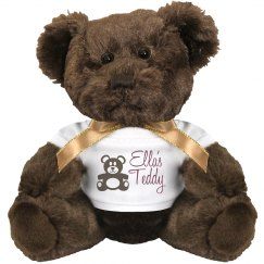 Ella's Big Teddy