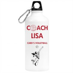 Volleyball Water Bottle