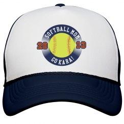 Softball Mom w/Ball