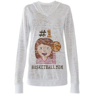 #1 Basketball Mom