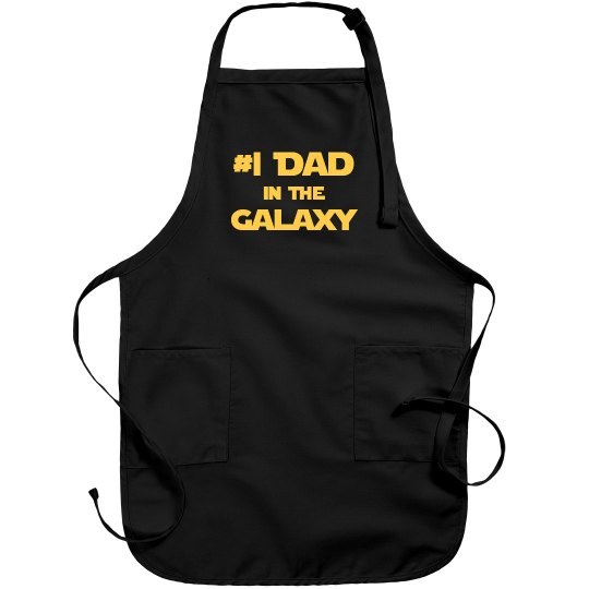 #1 Dad In The Galaxy Jedi Father