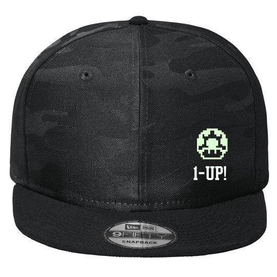 1 up! - Glow in the dark hat