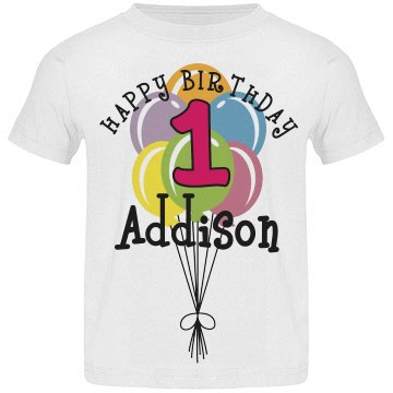 1 year old! Addison