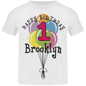 1 year old! Brooklyn