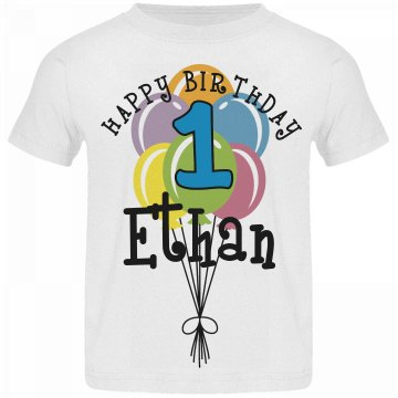 1 year old! Ethan