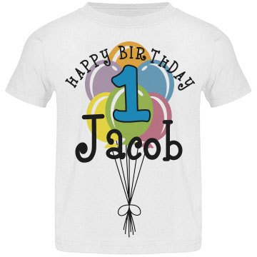 1 year old! Jacob