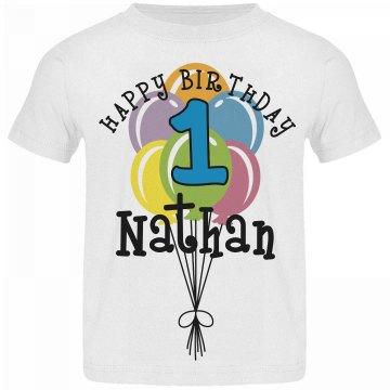 1 year old! Nathan