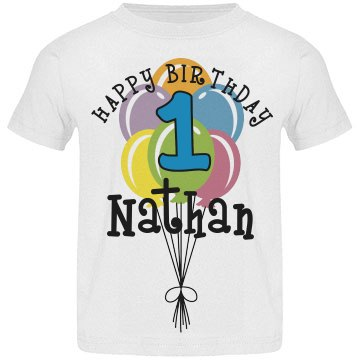 1 year old! Nathan