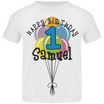 1 year old! Samuel