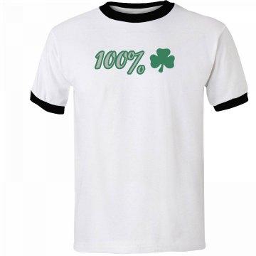 100% Irish Tee