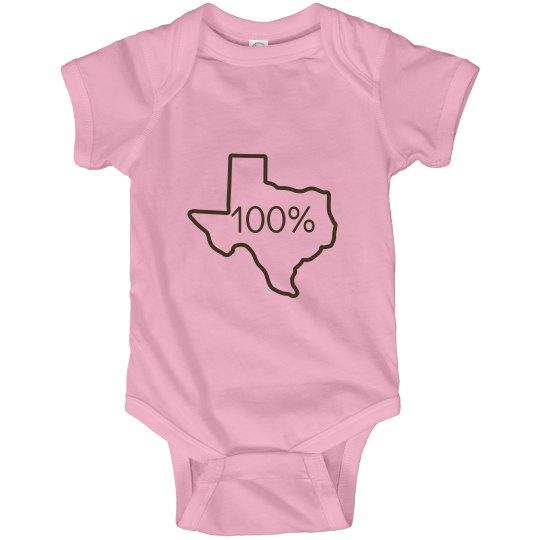 100% Texas!