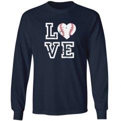 Baseball Love Long Sleeve