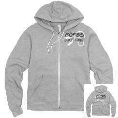 ROPES HOODIE WHITE ROPES