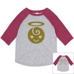 Little Angel Toddler Girl Shirt