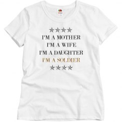 I'm A Mother And I'm A Soldier