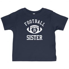 Cute Football Sister