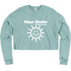 Hope Dealer Crop sweatshirt