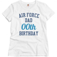 Customize air force dad bday