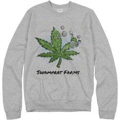 SWAMPRAT FARMS Distressed sweatshirt