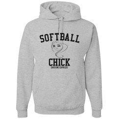 Softball Chick Hoodie