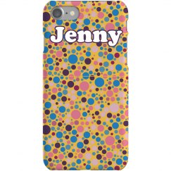 Colored Dots iPhone Case
