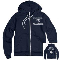 VCS Volleyball Jacket Example #4