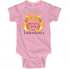 1st Valentines Giraffes