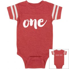 Custom 1st Birthday Bodysuit