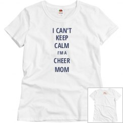 Keep Calm-Cheer Mom