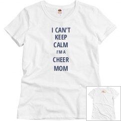 Keep Calm-Cheer Mom
