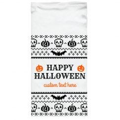 Halloween Custom Text Pixel Mask