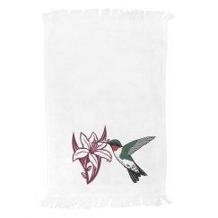 LMM#82 hummingbird & flower