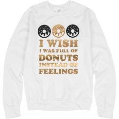 Metallic Donuts Not Feelings