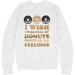 Metallic Donuts Not Feelings