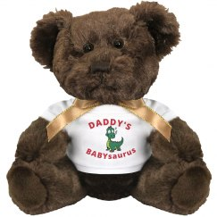 Daddy's Baby Saurus