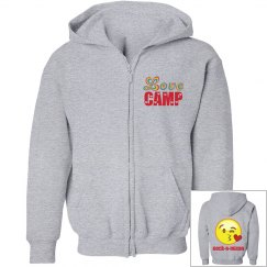 Camp love & emoji sweatshirt
