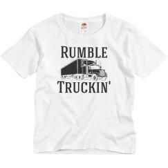 Rumble Truckin' Youth Girl Shirt