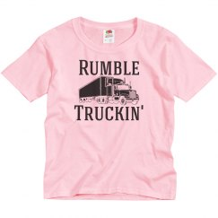 Rumble Truckin' Youth Girl Shirt