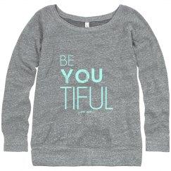 beYOUtiful eco sweatshirt