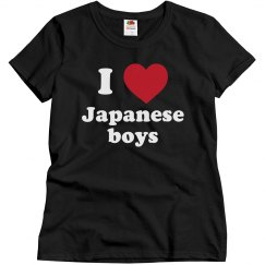 I love Japanese boys!