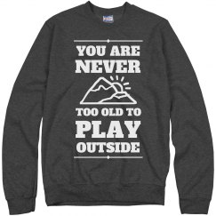 Play Outside Sweater