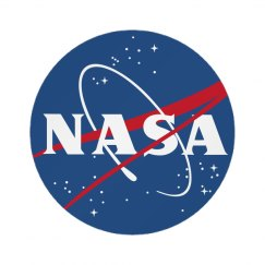 Cute Trendy NASA Badge