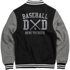 Metallic Baseball Dad Jersey