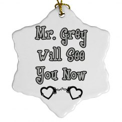 Mr. Grey Ornament