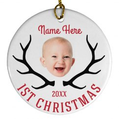 Add Your Own Baby Image Ornament